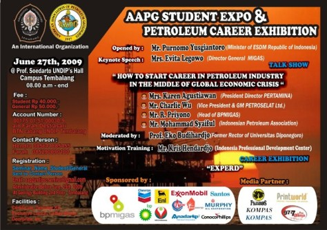 AAPG STUDENT EXPO & PETROLEUM CAREER EXHIBITION